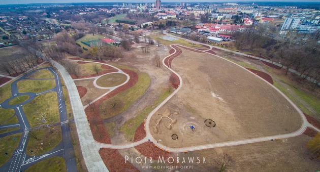 tereny-zielone-nad-wisla-tarnobrzeg-dron